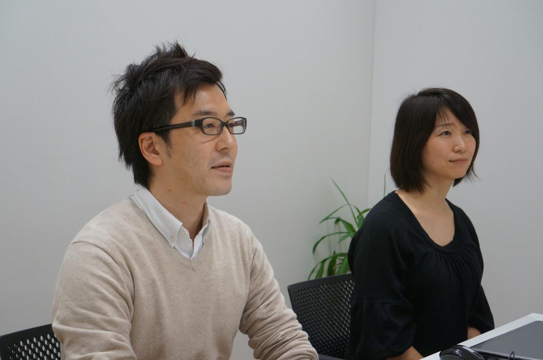 左)山田さん・右)高橋さん