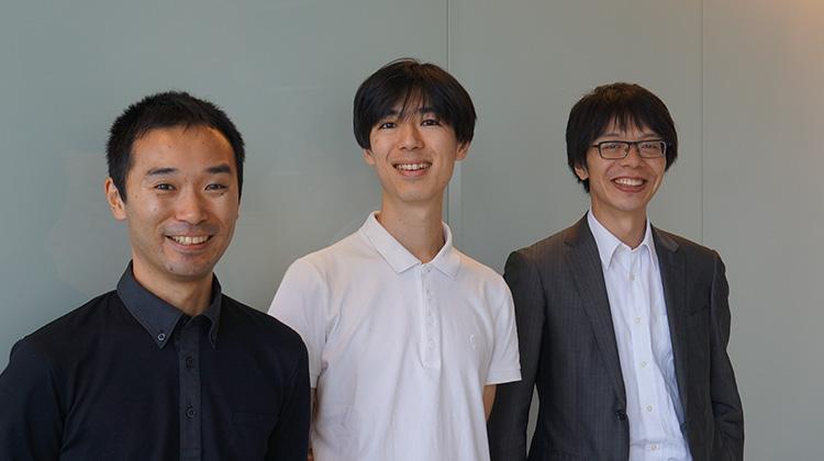 左から)小野さん、盛田さん、高橋さん