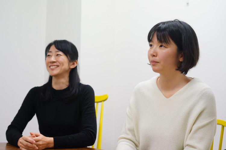 栗林さん(右)、島村さん(左)